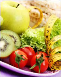 Apples, fruits - Diet for weight loss belly