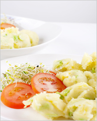 vegetables with potatoes