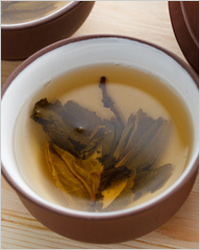 Green tea and herbal infusions