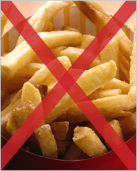 What foods are advisable not to eat