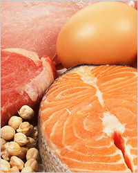 Diets: steamed or grilled fish and meat are recommended