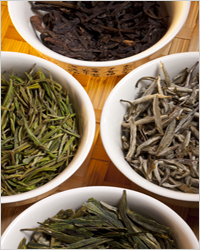 varieties of tea