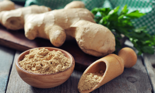 Diet with ginger