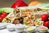 Shawarma at home