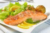How to cook pink salmon in the oven juicy and soft