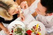 Romantic dinner for your beloved