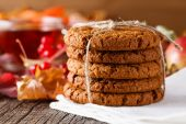 Lean oatmeal cookies