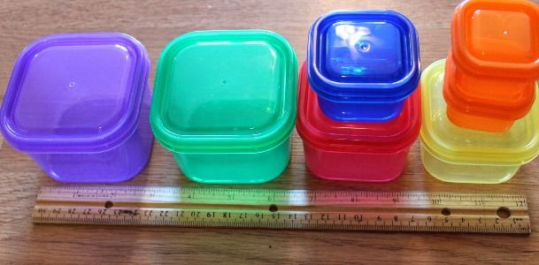 containers from the 21 day fix program
