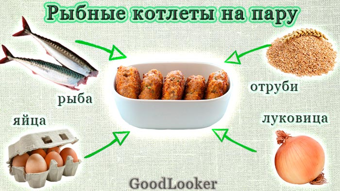 Steamed fish cakes